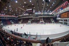 Arène de palais de glace de CSKA Photographie stock libre de droits