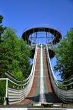 Arène de sauter de ski Image libre de droits