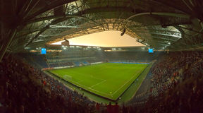 Arène de stade de Dnipro Images libres de droits