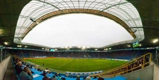 Arène de stade de Dnipro Photographie stock libre de droits