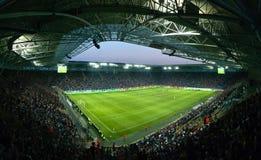 Arène de stade de Dnipro Photographie stock