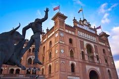 Arène de tauromachie à Madrid, Las Ventas Images stock