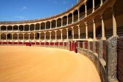 Arène de tauromachie à Ronda Photos stock