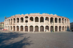Arène de Vérone, amphitheatre romain. l'Italie Photo stock