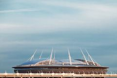 Arène de Zenit de stade à St Petersburg photo libre de droits