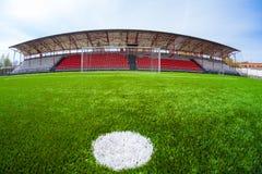Arène du football, stade Photographie stock libre de droits