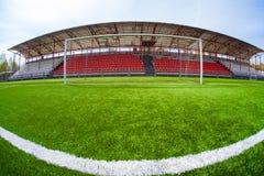 Arène du football, stade Images libres de droits