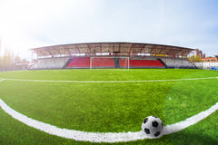 Arène du football, stade image stock