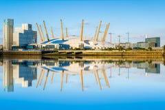 Arène O2 à Londres Photos libres de droits