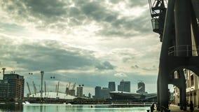Arène O2 et Canary Wharf, possibilité éloignée clips vidéos