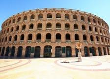 Arène Plaza de Toros d'arène à Valence Photographie stock libre de droits