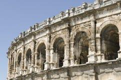 Arènes antiques de Nîmes Photographie stock libre de droits