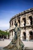 Arènes De Nîmes Photographie stock