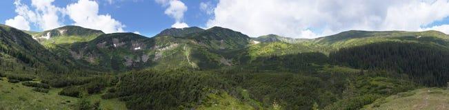Arête de montagne Photo libre de droits
