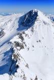 Arête de montagne Photos libres de droits