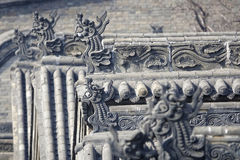 Arête de toit de dragon Photographie stock libre de droits