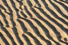 Arêtes abstraites de sable photos stock