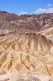 Arêtes dans le désert Images libres de droits