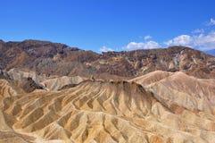 Arêtes dans le désert Photo libre de droits