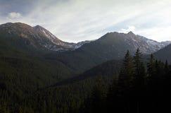 Arêtes de montagne photographie stock