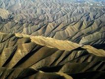 arêtes sans fin de l'Afghanistan Images stock