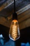 Żarówka oświetleniowy wystrój Obraz Royalty Free