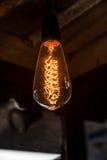 Żarówka oświetleniowy wystrój Zdjęcie Stock