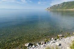 ar贝加尔湖早晨 图库摄影