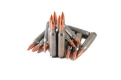 AR 15/Μ 16 πυρομαχικά Στοκ Εικόνα