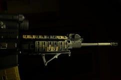 AR 15 συγκρατημένο Στοκ Εικόνα