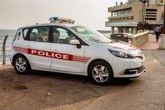 AR της περιπόλου αστυνομίας του Μονακό στο Μόντε Κάρλο, Μονακό Στοκ φωτογραφία με δικαίωμα ελεύθερης χρήσης