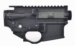 AR15上部&更低的接收器 图库摄影
