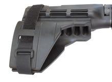 AR-15手枪股票 库存图片