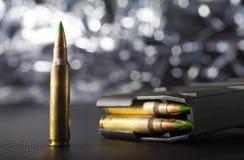 AR-15的弹药 库存照片