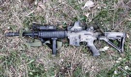 AR-15马枪 库存图片