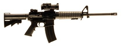 AR-15 Royalty Free Stock Photo