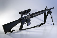 AR-15 A2 Assault Rifle Royalty Free Stock Photography