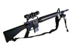 AR-15 A2 Assault Rifle Stock Photography