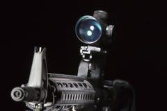 AR-15 Gun Stock Photo