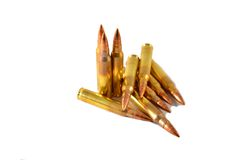 Free AR 15 / M 16 Cartridges Stock Photos - 47137533