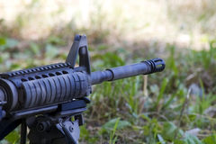 AR-15 Rifle royalty free stock image