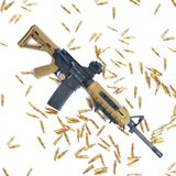 AR-15 Immagine Stock