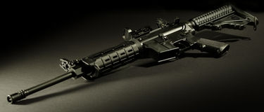AR-15 Fotografia de Stock Royalty Free