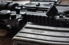AR-15 Arkivbild