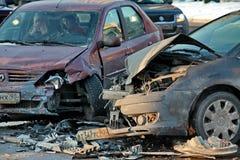 сar accident Stock Image
