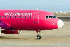 Ar Airbus A320 de Wizz Fotografia de Stock Royalty Free