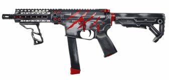 AR15/AR9 9mm SBR royalty free stock photography