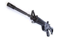 AR-15 Assault Rifle Stock Photo