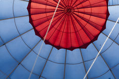Ar-balão do aerostat do balão Fotografia de Stock