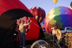 Ar Balão-Quente Fotografia de Stock Royalty Free